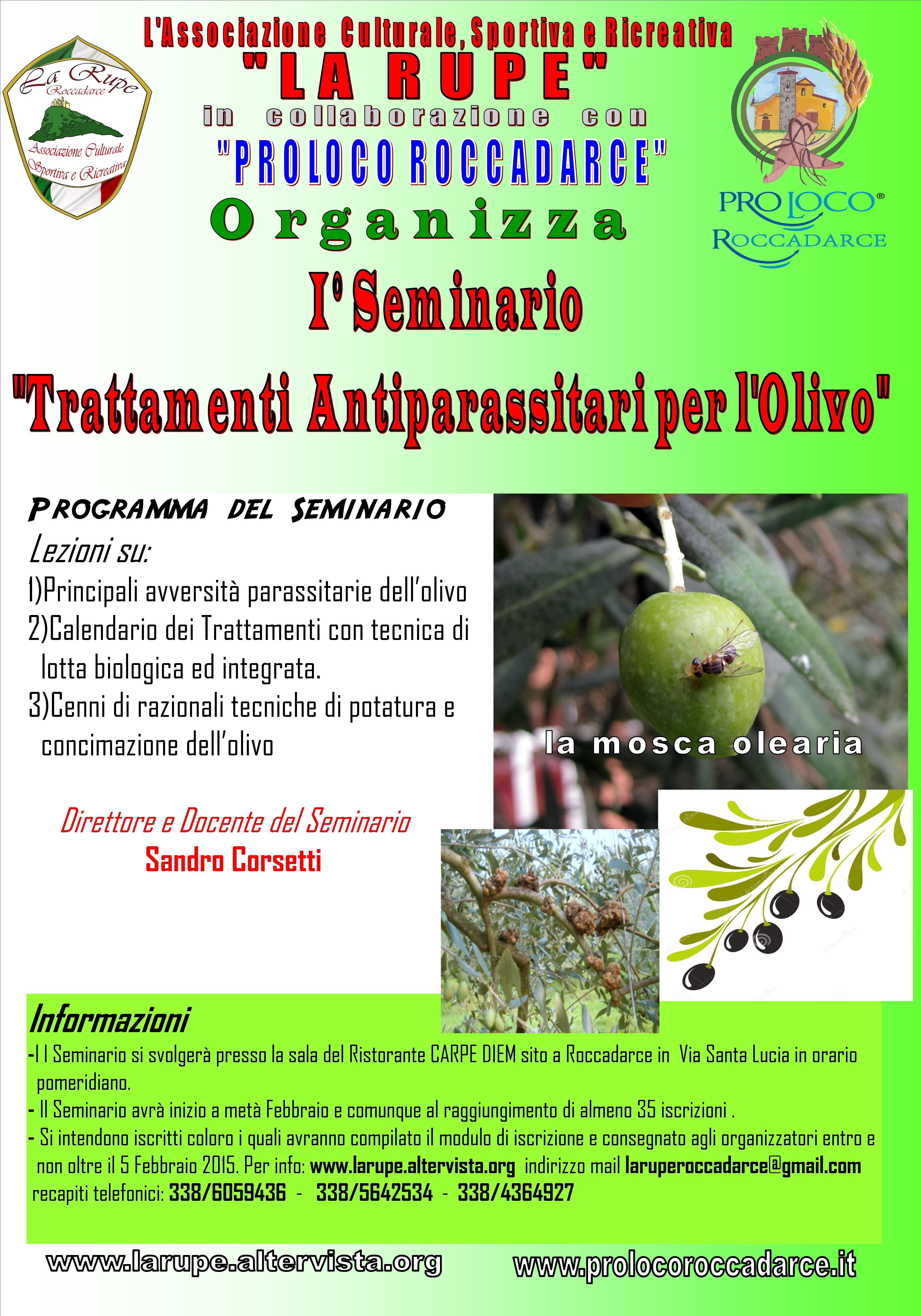 Calendario Trattamenti Olivo Biologico.Seminario Sui Trattamenti Per Le Olive Pd Di Fontana Liri