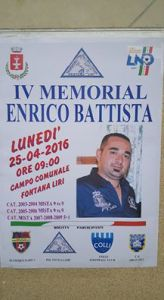iv memorial enrico battista