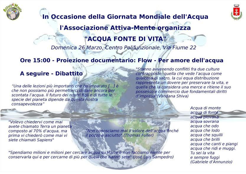 Acqua fonte di vita - PD di Fontana Liri